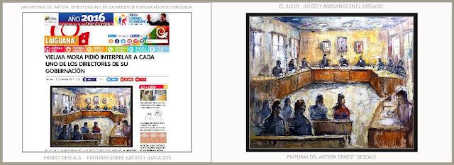 JUZGADOS-PINTURA-JUICIOS-PINTURAS-ARTE-ARTISTA-PINTOR-ERNEST DESCALS-NOTICIAS-TELEVISION-VENEZUELA