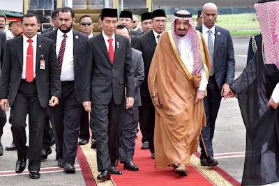 Disaksikan Jokowi dan Raja Salman, RI-KSA Tandatangani 10 Kesepakatan Kerja Sama