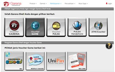 Isi Cash PB Garena Indonesia Tidak Bisa Lagi Pakai Voucher Gemscool (G-Voucher)