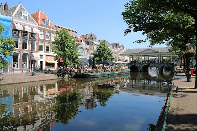 Stadtlandeltern - Holland - Urlaub - Leiden - Kanal