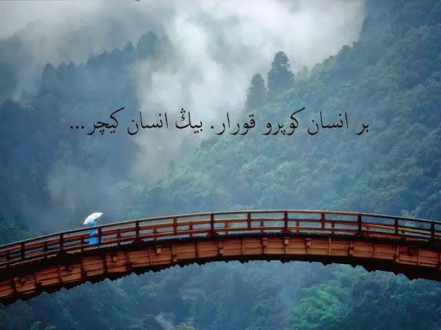 bir insan köprü kurar bin insan geçer