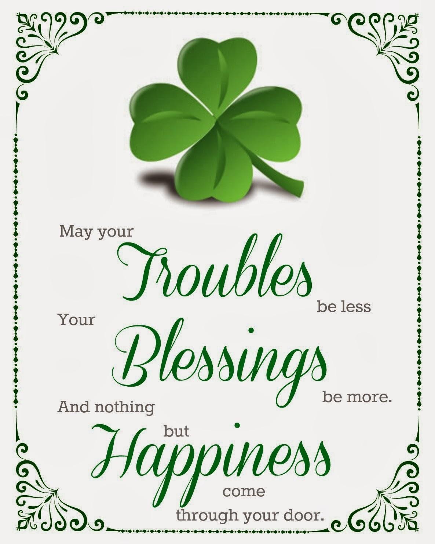 Shamrock St Patricks Day Pattys Dollar Tree Printable