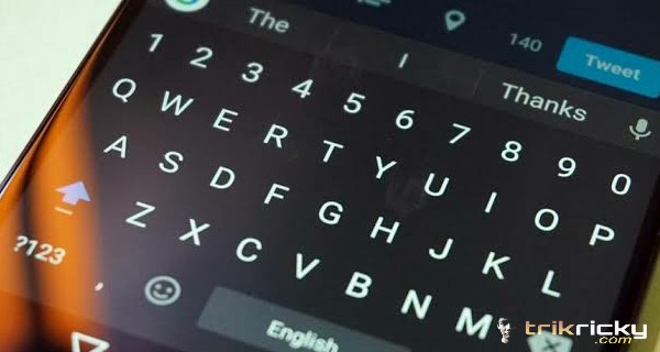 Keyboard android eror