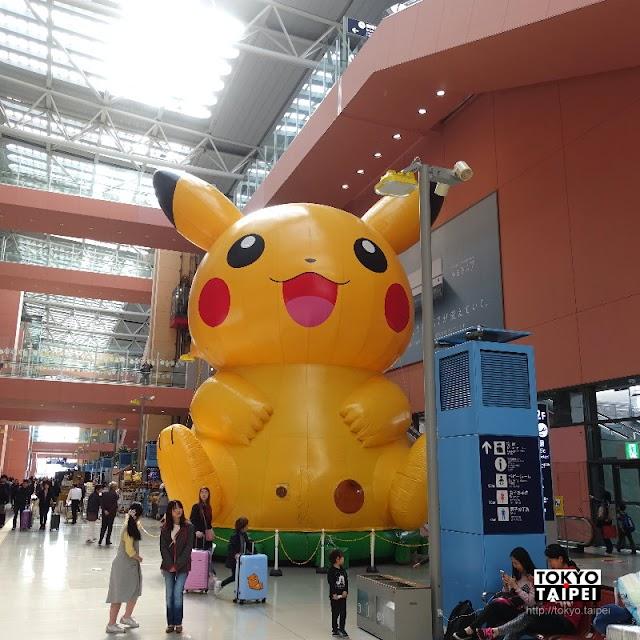 【PoKeMon Special 2 Weeks in KIX!!】關西機場限時超大超萌皮卡丘