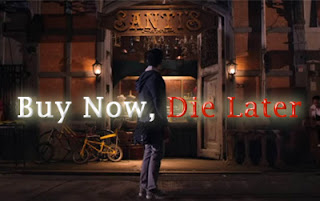 buy now die later horror movie, haunted antique shop, horror in antique shop