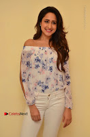 Actress Pragya Jaiswal Latest Pos in White Denim Jeans at Nakshatram Movie Teaser Launch  0051.JPG