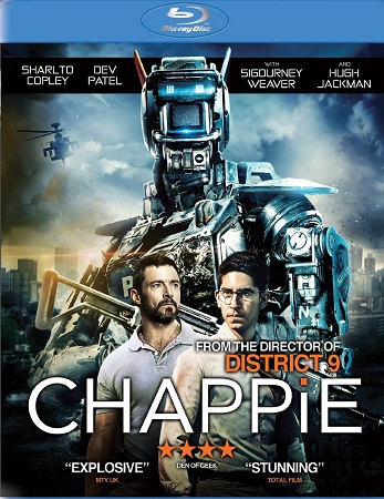 Poster Of Chappie 2015 English 350MB BRRip 480p Free Download Watch Online
