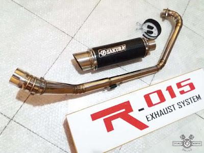 Harga Dan Merek  Knalpot Racing Variasi Honda CBR 150R Terlaris