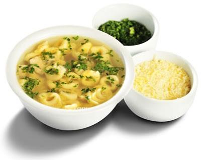 Receita de sopa de capelette