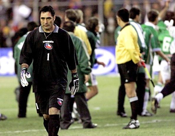 Bolivia y Chile en Clasificatorias a Corea/Japón 2002, 19 de julio de 2000