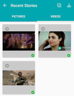 WhatsApp story saver app