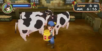 Cara mendapatkan Gold Egg atau Milk G di Harvest Moon Hero Of Leaf Valley