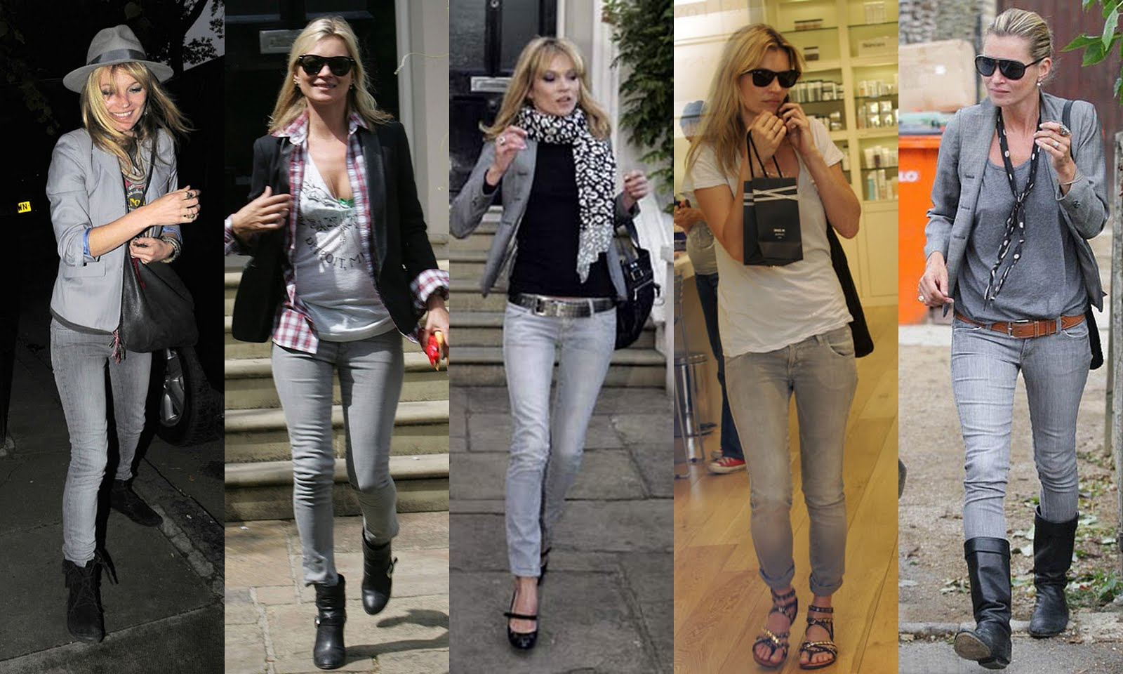 Fashion How To Style Grey Jeans Stylish By Nature By