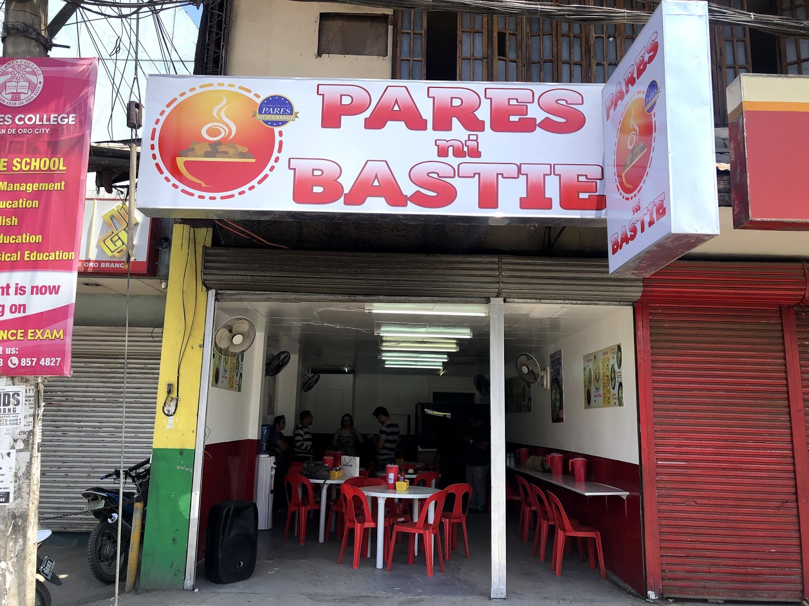 Pares ni Bastie Now Open to Serve Kagay-anons!