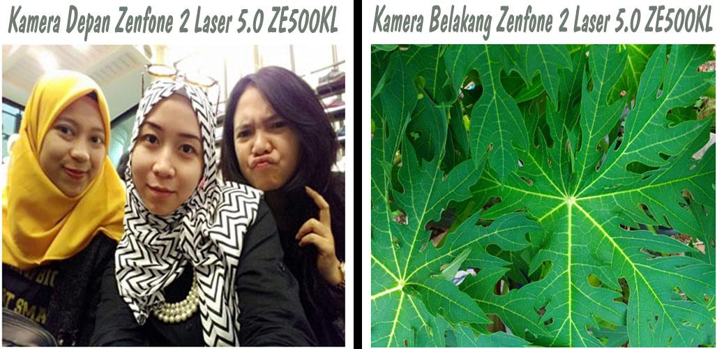 Hasil Kamera Depan Belakang Zenfone 2 Laser 5.0 ZE500KL