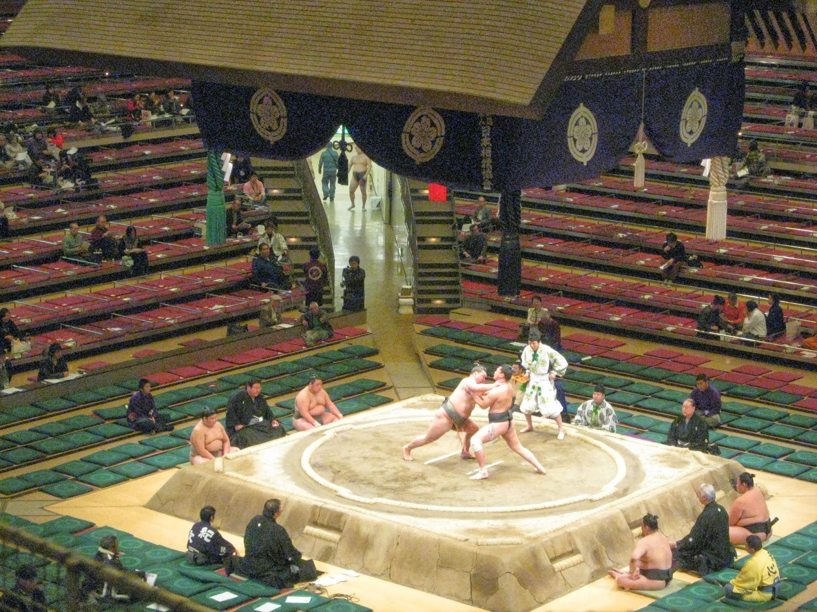 Tokyo - Sumo wrestling
