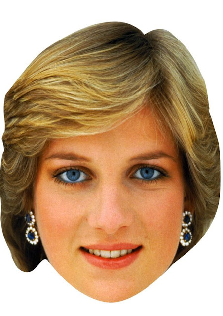 Princes Lady Diana Free Printable Masks Oh My Fiesta! in english