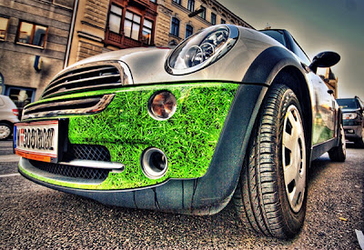 Автомобили на HDR фотографиях
