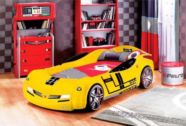 Dekorasi Kamar Tidur Anak Laki-Laki Tema Mobil