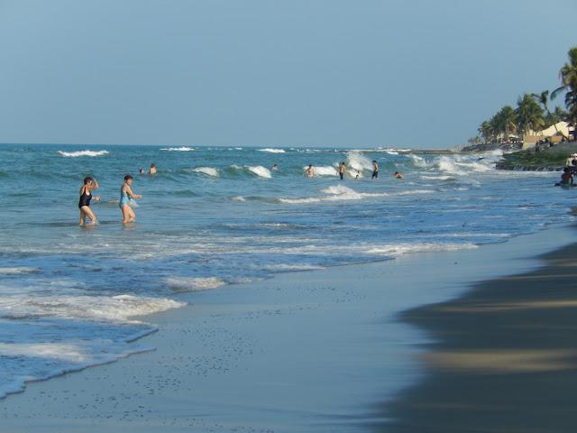 Cua Dai beach Hoi An Vietnam