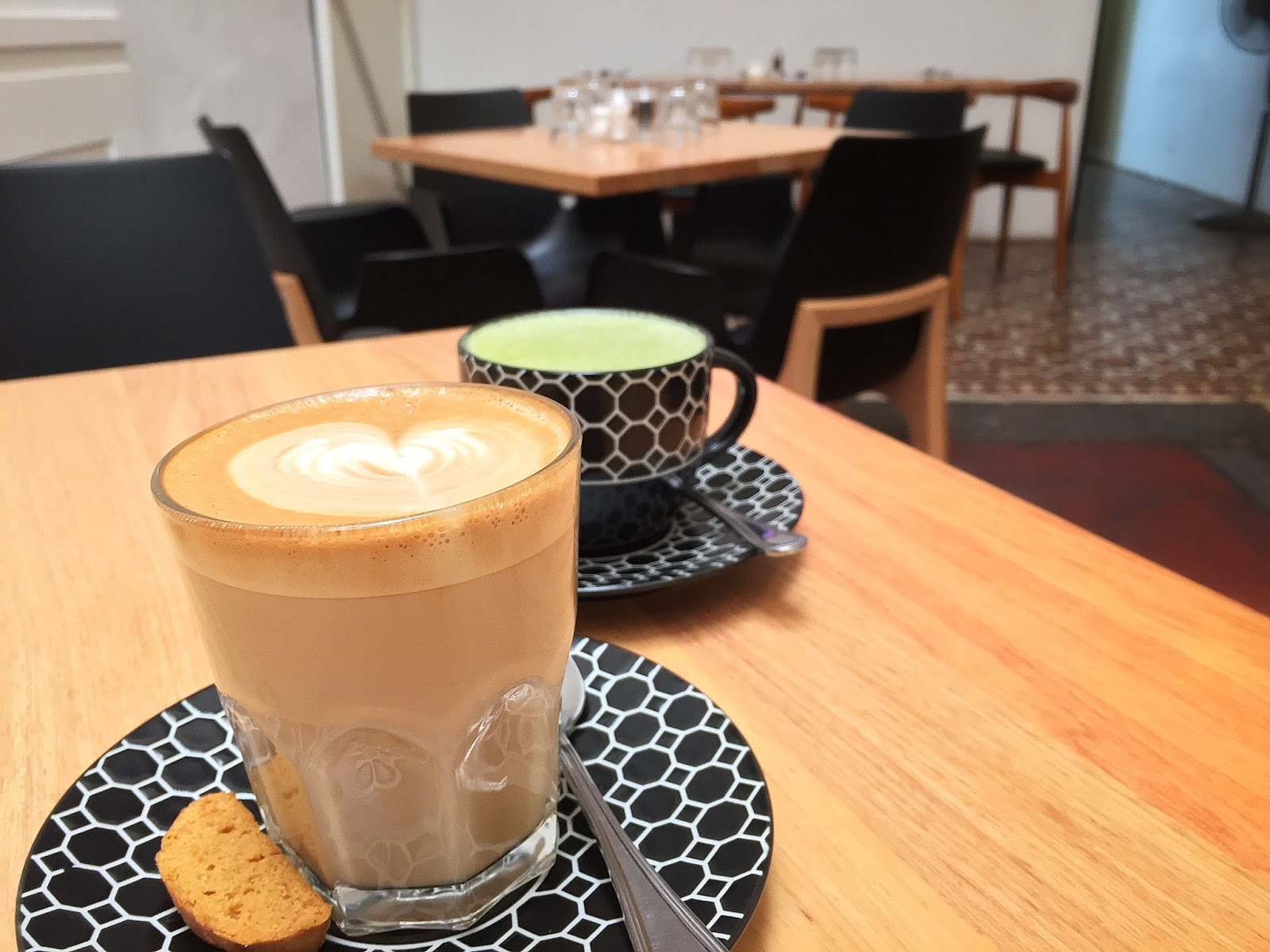 Secawan 'n' Such - Latte and Matcha Latte