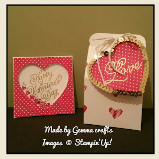 Stampin'Up! real red with love