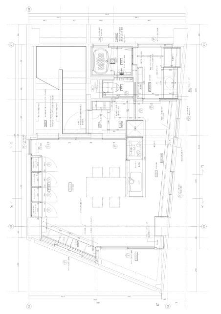 築30年超の一室をスケルトンリフォームした心地よい住まい スケルトンリフォーム 平面計画