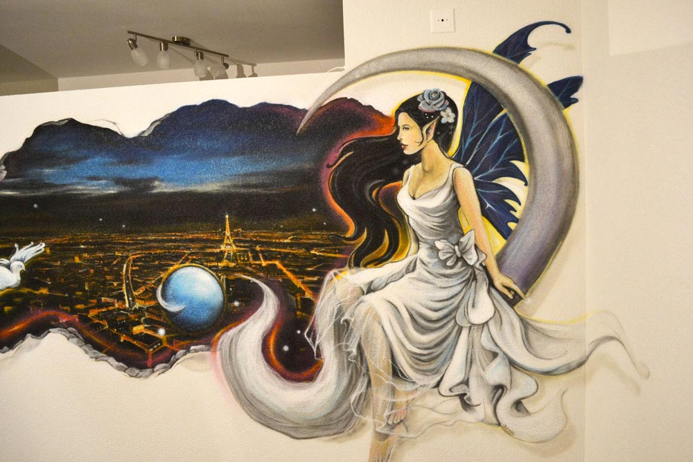 Sprayer  graffiti knstler trompe loeil Bern Aarau