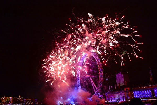 31st December 2018 New Year Eve Celebration Fireworks 3D