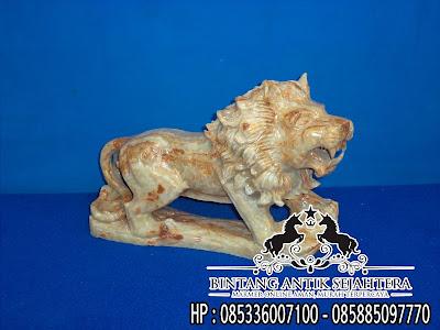 Jual Patung Singa Batu Onix