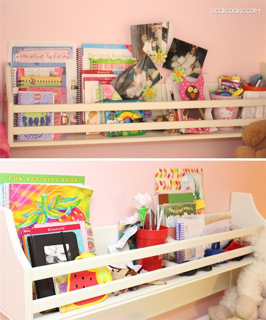 Things are a Moving - Girls Bedroom Ideas from www.realcoake.com