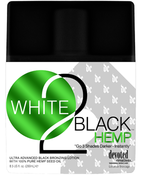 Devoted Creations White 2 Black Hemp™ Bronzing Lotion