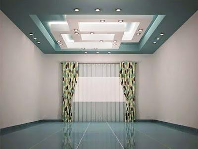 Model plafon minimalis