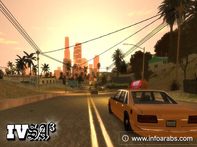تحميل GTA San Andreas برابط واحد مباشر للكمبيوتر