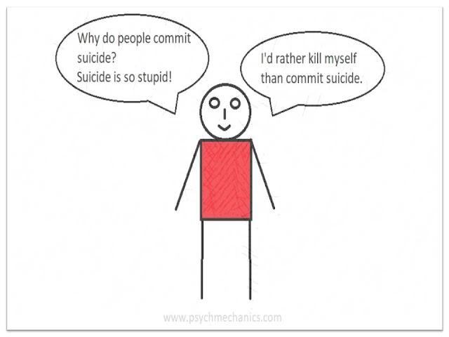 suicide joke cartoon