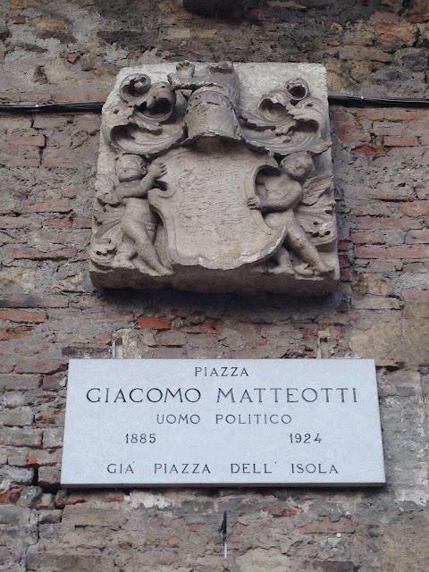 piazza Giacomo Matteotti - uomo politico - Verona