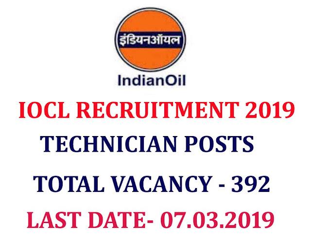 IOCL Apprentice recruitment 2019 apply online, indian oil recruitment 2019, IOCL recruitment 2019 apprentice posts, www.iocl.com recruitment 2019