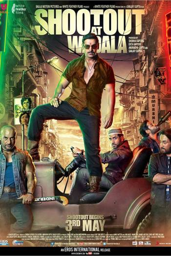 Poster Of Shootout at Wadala 2013 720p Hindi BRRip Full Movie Download