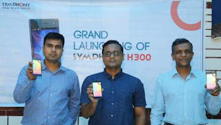 Symphony Mobile BD Bangladesh Launches H300 Smartphone