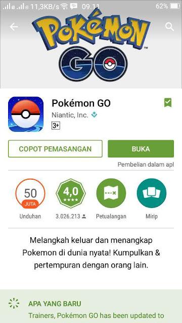 Asiikk....! Pokemon Go sudah resmi tersedia di negara Indonesia