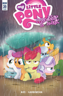 MLP Friendship is Magic #39 Comic by IDW Regular Cover by Agnes Garbowska