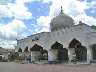 Masjid Agung Bojonegoro di daerah Kauman