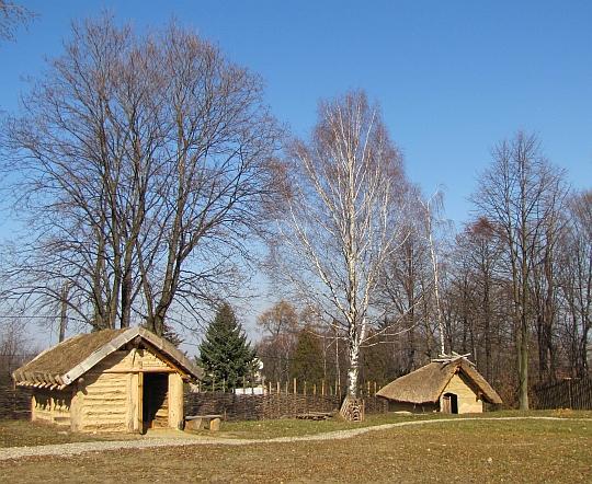 Domki starożytnych hutników