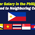 Teacher Salary in the Philippines Compared to Neighboring Countries