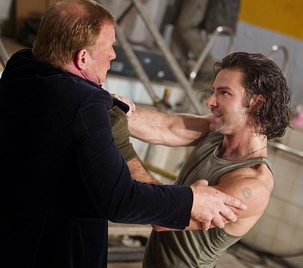 Aidan Turner, Being Human, Poldark, Fight Training