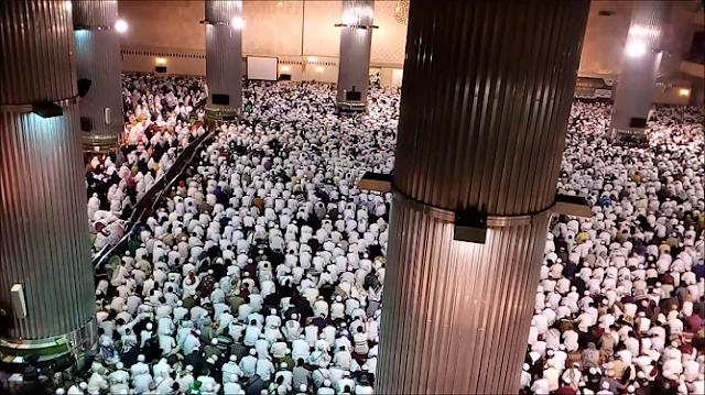 Video : Doa dan Dzikir Bersama Aksi Bela Islam 112 Masjid Istiqlal jakarta