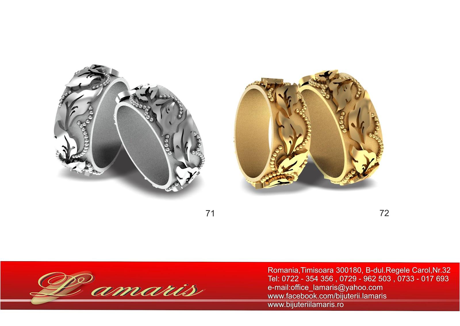 verighete aur Timisoara - bijuterii Lamaris : verighete ...