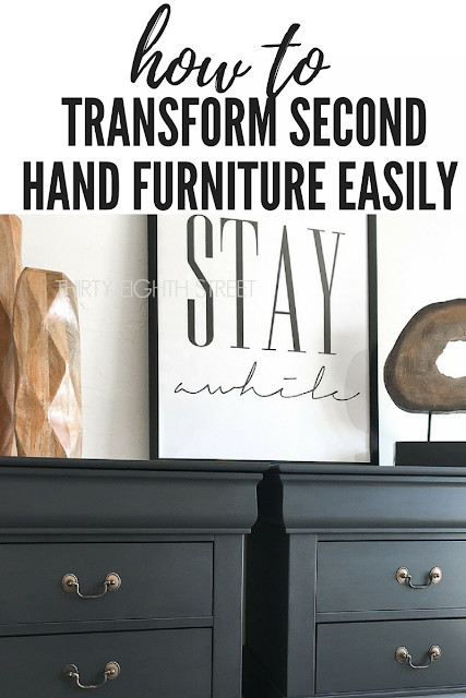 Furniture refinishing ideas thirty eighth street - Buy second hand furniture ...