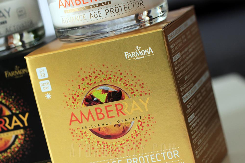FARMONA, AMBERRAY Advance Age Protector, Krem rozjaśniajaco-wygładzający na dzień