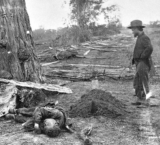 John Banks Civil War Blog Ten Months After Antietam Graves